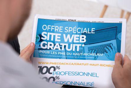 Le journal Le Canada Français offre des sites Web gratuits!