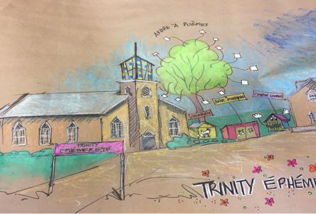 Le Domaine Trinity transformé en village éphémère