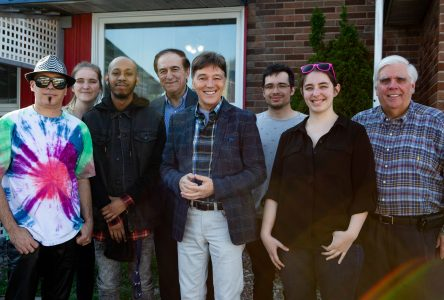 Mathieu Provençal et Guylaine Tanguay à la fête du Canada