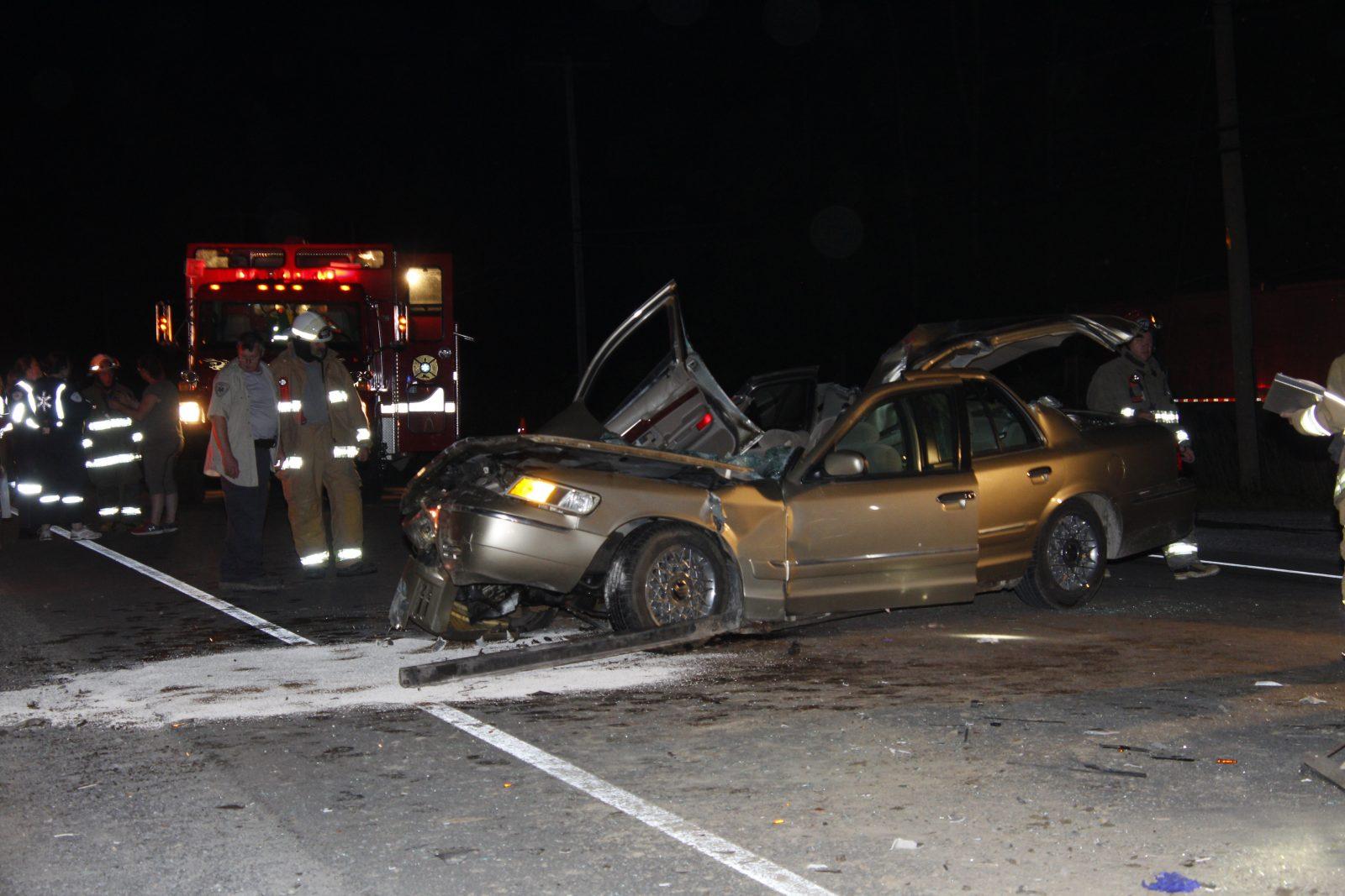 Accident mortel à Noyan