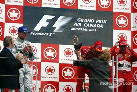 9 juin 2002 – Michael Schumacher remporte le Grand Prix de F1 de Montréal