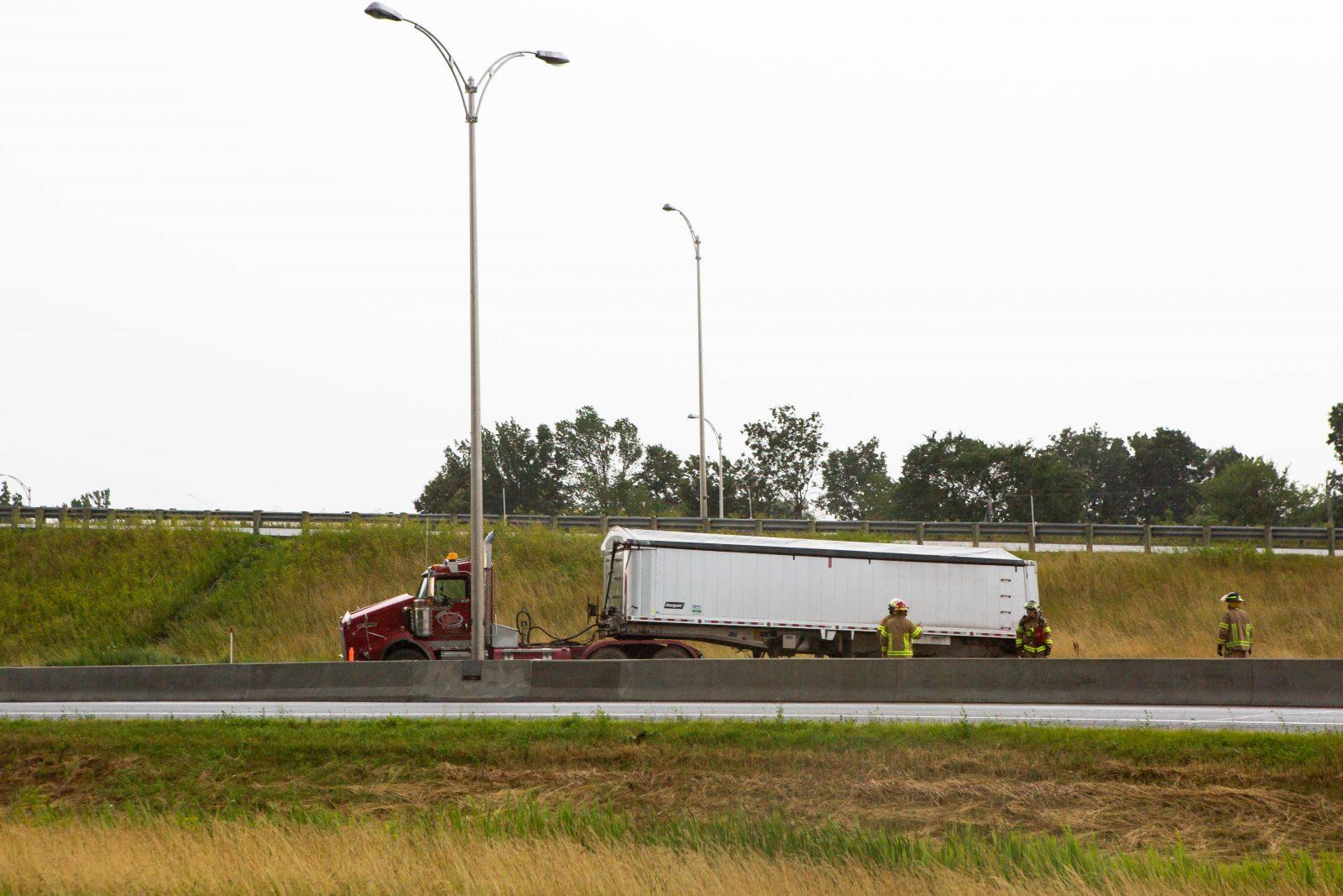 Circulation perturbée sur l'autoroute 35