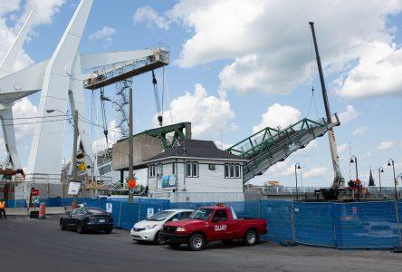 Le pont Gouin est réparé