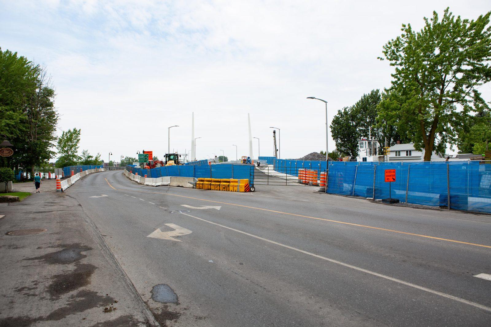 Six arbres abattus pour démolir le vieux pont