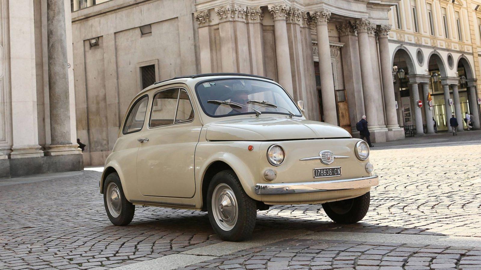 4 juillet 1957- Fiat dévoile la 500