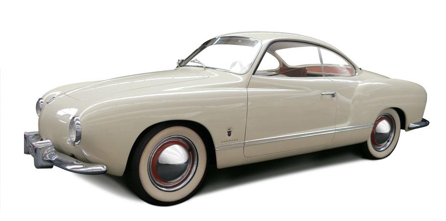 14 juillet 1955 – Présentation de la Karmann-Ghia