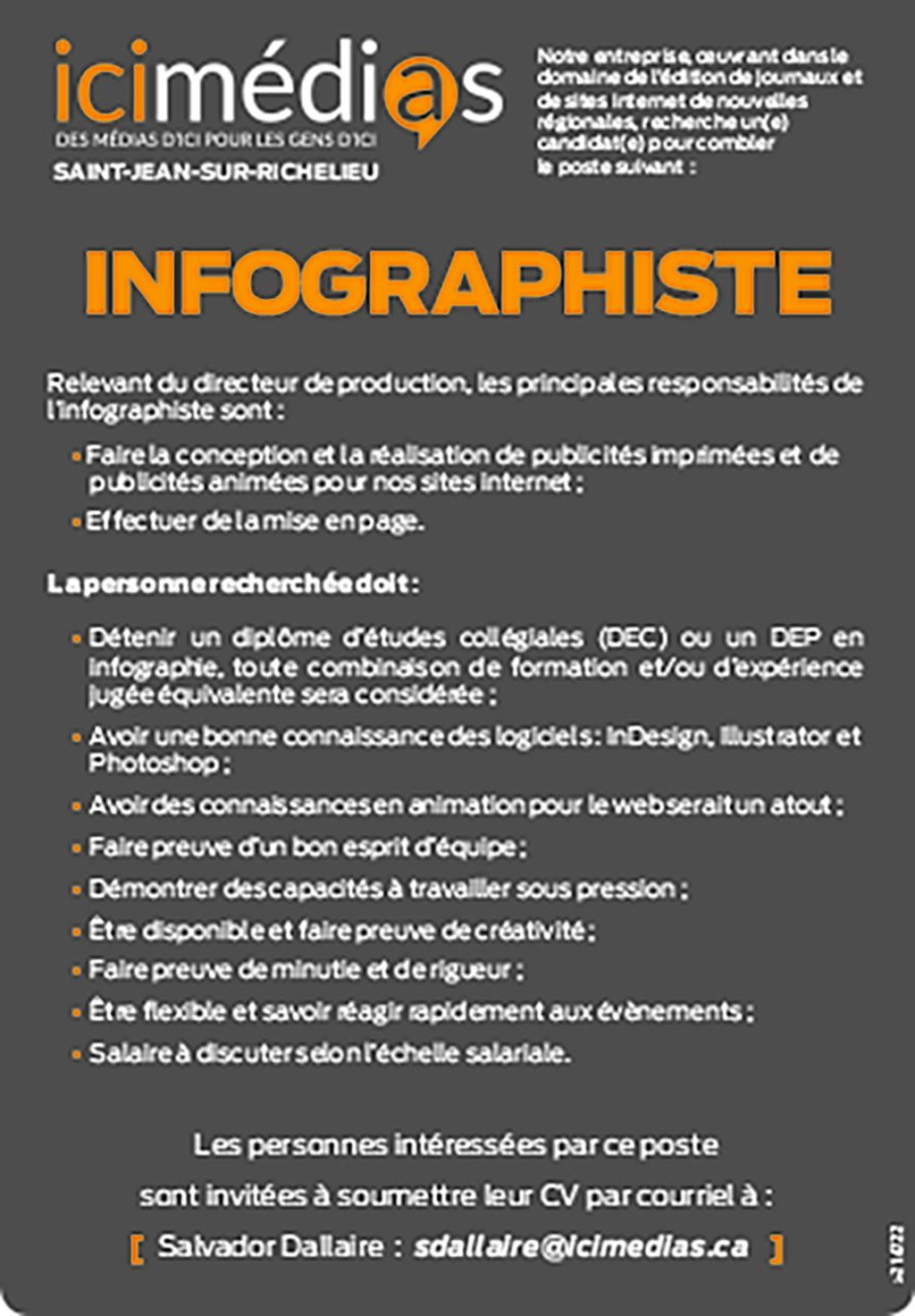 Logo de INFOGRAPHISTE