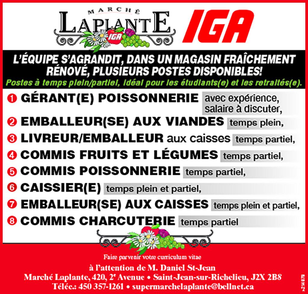 Logo de GÉRANT(E) POISSONNERIE / EMBALLEUR(SE) AUX VIANDES / LIVREUR/EMBALLEUR / COMMIS FRUITS ET LÉGUMES / COMMIS POISSONNERIE / CAISSIER(E) / EMBALLEUR(SE) AUX CAISSES / COMMIS CHARCUTERIE
