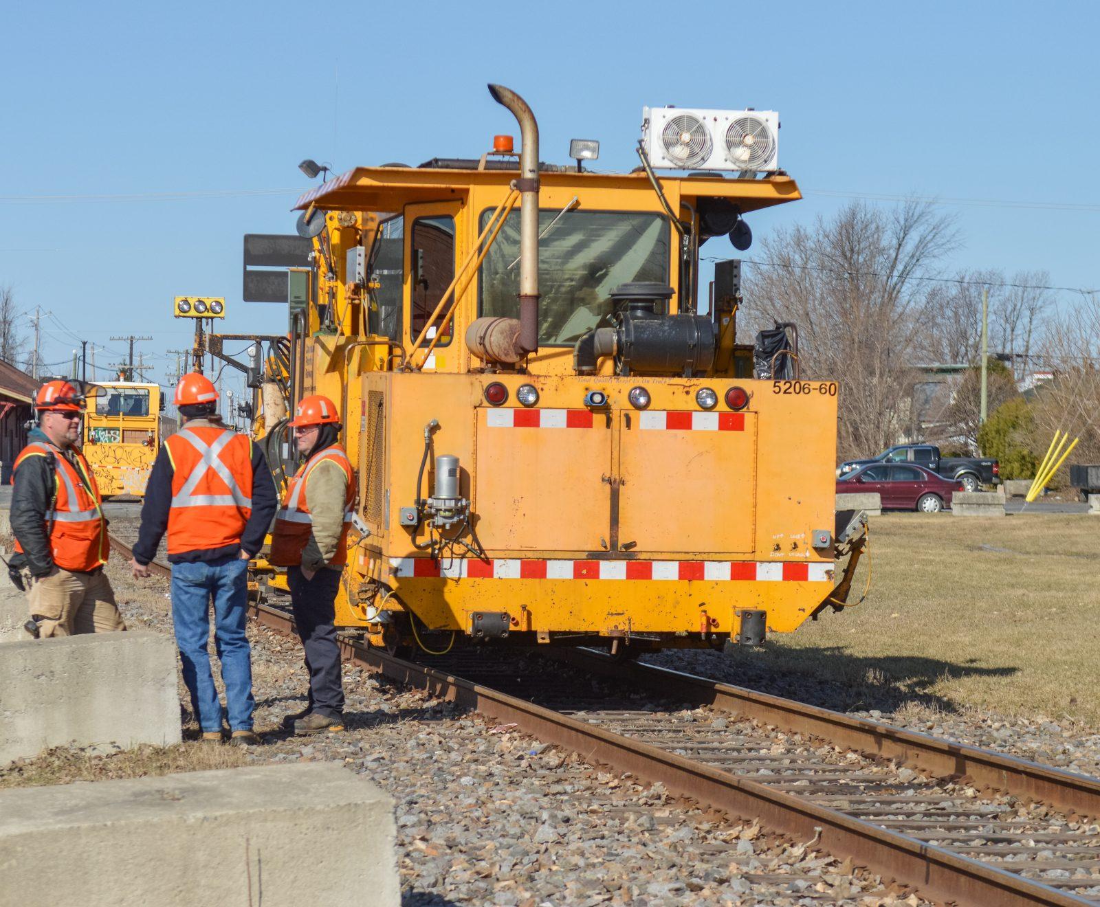 Des travaux sur les voies ferrées