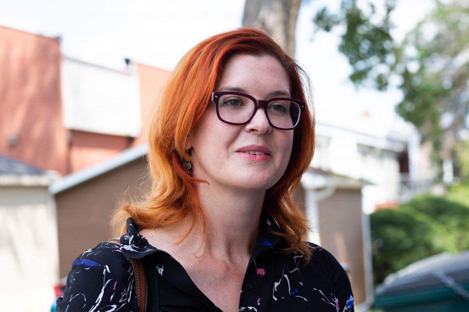 Christine Normandin, figure montante du Bloc québécois