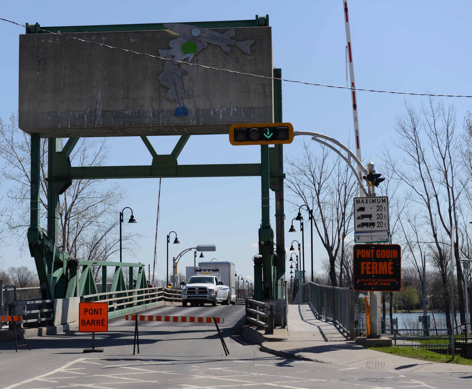 La fermeture du pont Gouin reportée de deux jours