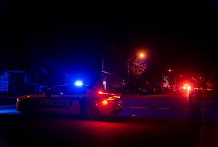 La police enquête sur un incendie survenu sur la rue Boisvert
