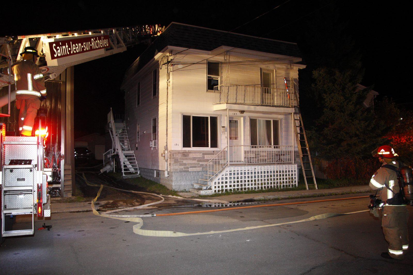 Deux incendies causent des dommages à Saint-Jean