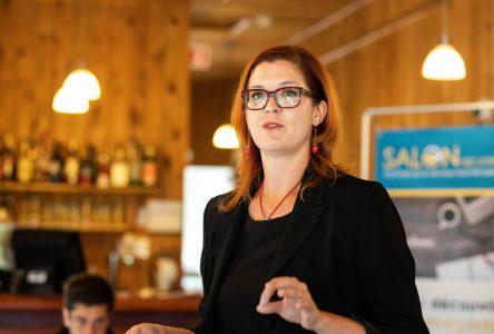Christine Normandin promet d'être la voix des agriculteurs