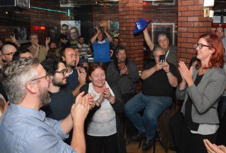 La victoire de Christine Normandin s'annonce importante