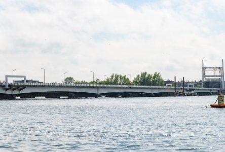Le nouveau pont samedi?