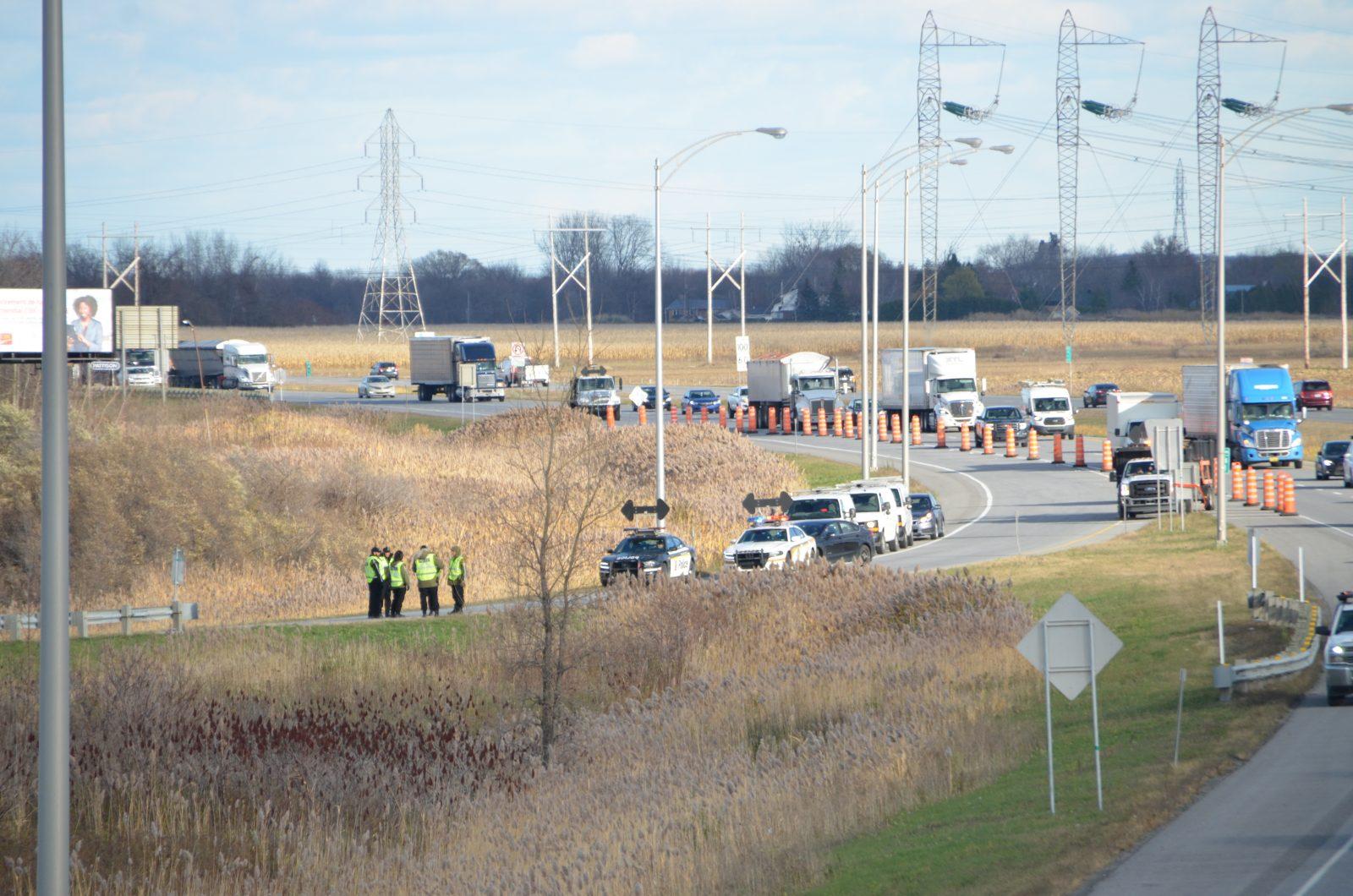 L'individu disparu est retrouvé sans vie près l'autoroute 30