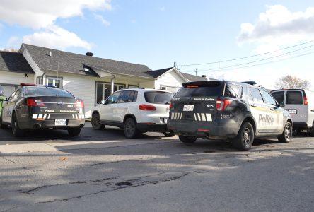 Perquisition à Napierville: deux hommes arrêtés