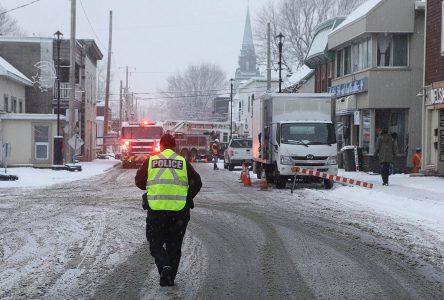La fuite de gaz a été colmatée vers 21 heures
