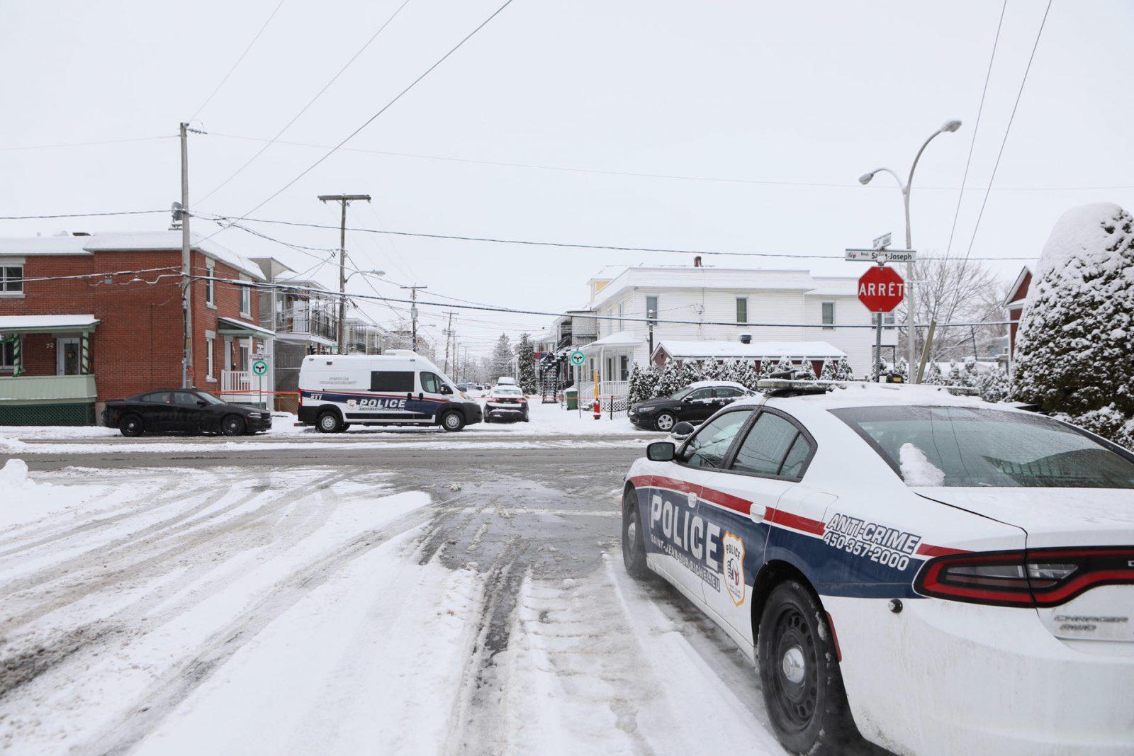 Intervention policière terminée sur la rue Laurier