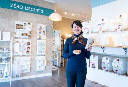 Une boutique écologique à Mont-Saint-Grégoire