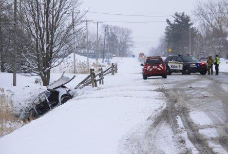 Accident à Saint-Alexandre: trois des adolescents aux soins intensifs