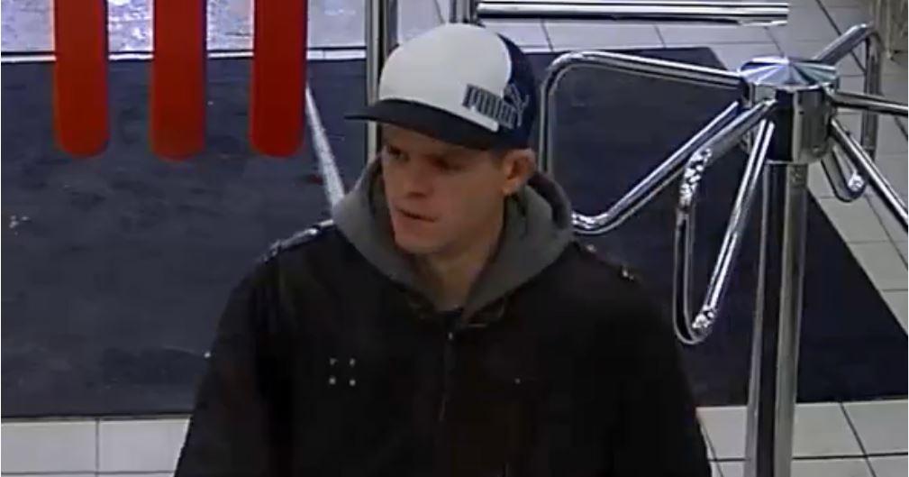 Le suspect recherché pour vol à l'étalage a été identifié