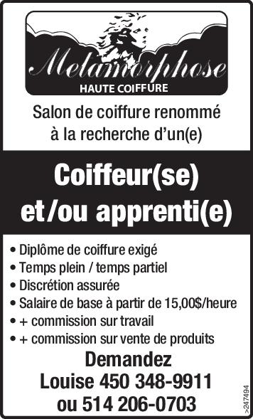 Logo de Coiffeur(se) et /ou apprenti(e)