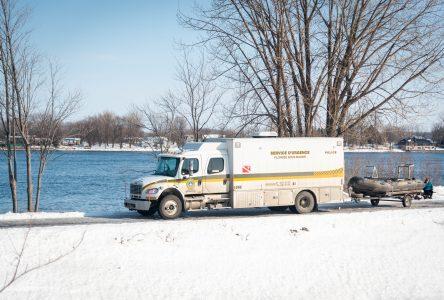 Des recherches pour retrouver un homme dans la rivière