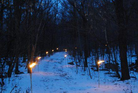 CIME Haut-Richelieu: marche nocturne dans la montagne le 8 février
