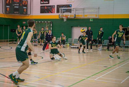 Début des séries au volleyball collégial