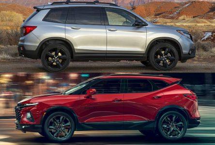 Chevrolet Blazer vs Honda Passport – Un nouveau créneau de VUS 5 passagers
