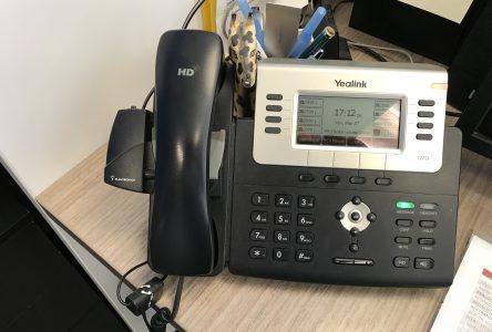 Une ligne téléphonique pour le recrutement des bénévoles