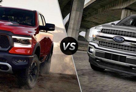 Ford F-150 vs Ram 1 500 – Combat de Titan