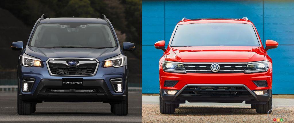 Subaru Forester 2019 vs Volkswagen Tiguan 2019
