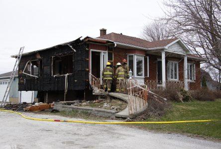 Un incendie rapidement maîtrisé à Henryville