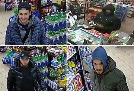 Quatre voleurs recherchés à Saint-Jean-sur-Richelieu