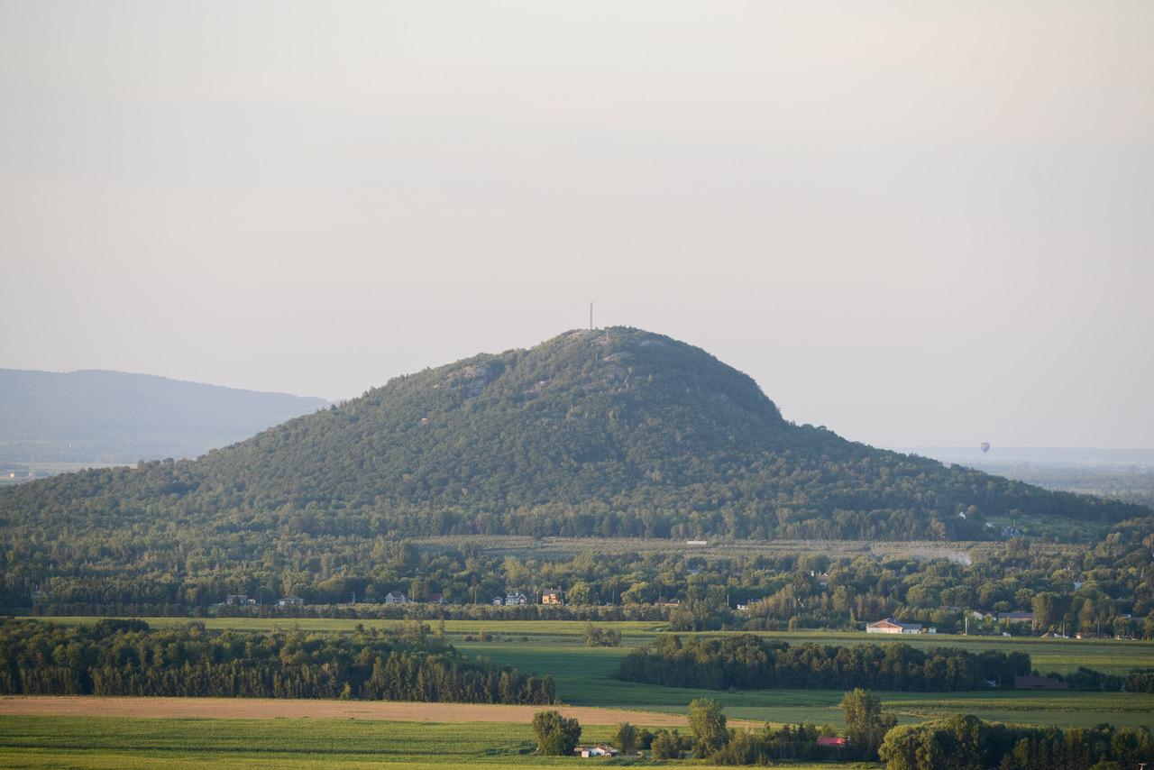Le mont Saint-Grégoire est inaccessible