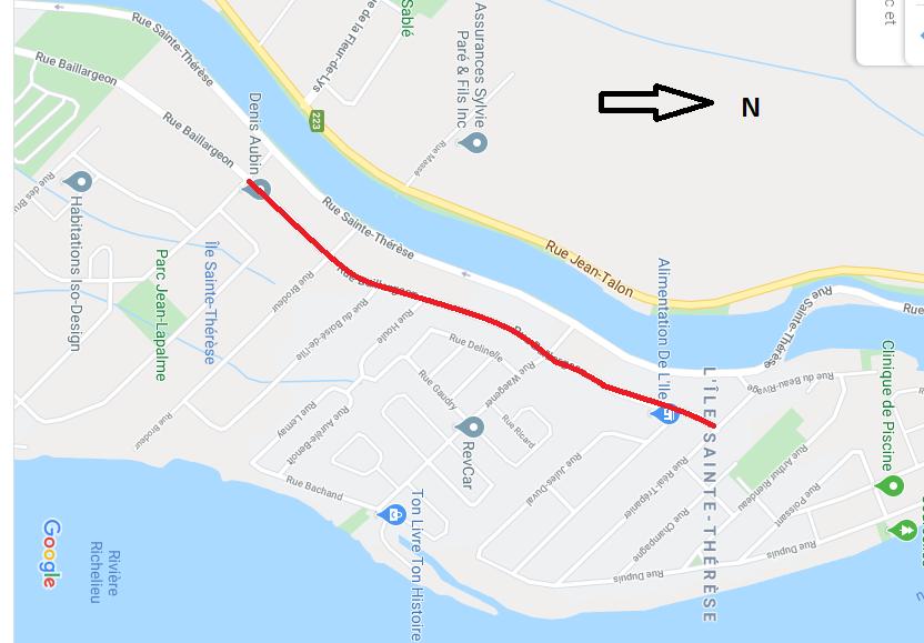 Île Sainte-Thérèse: sept semaines de travaux sur la rue Baillargeon