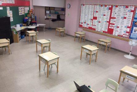 Rentrée progressive dans les écoles primaires dès lundi