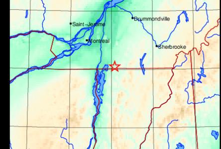 Un tremblement de terre ressenti dans le Haut-Richelieu