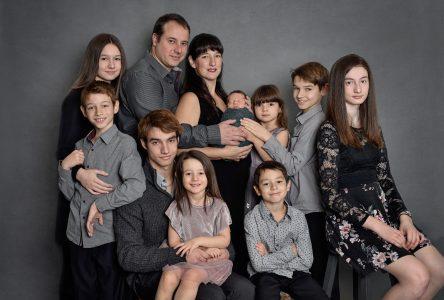 La famille Bergeron-Dupuis en vedette à Canal Vie