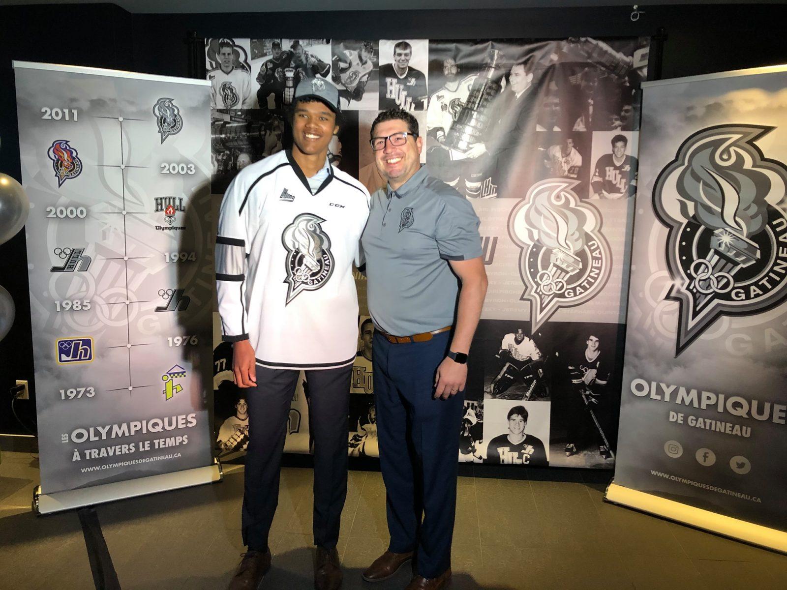 Noah Warren avec les Olympiques de Gatineau