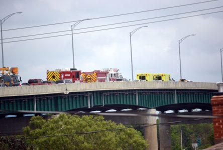 Accident sur le pont Marchand
