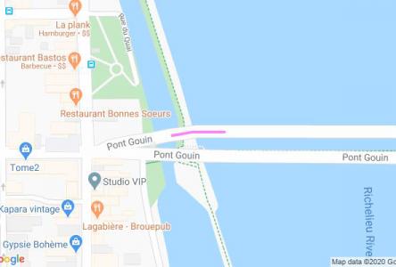 Circulation en alternance sur le pont Gouin jeudi après-midi