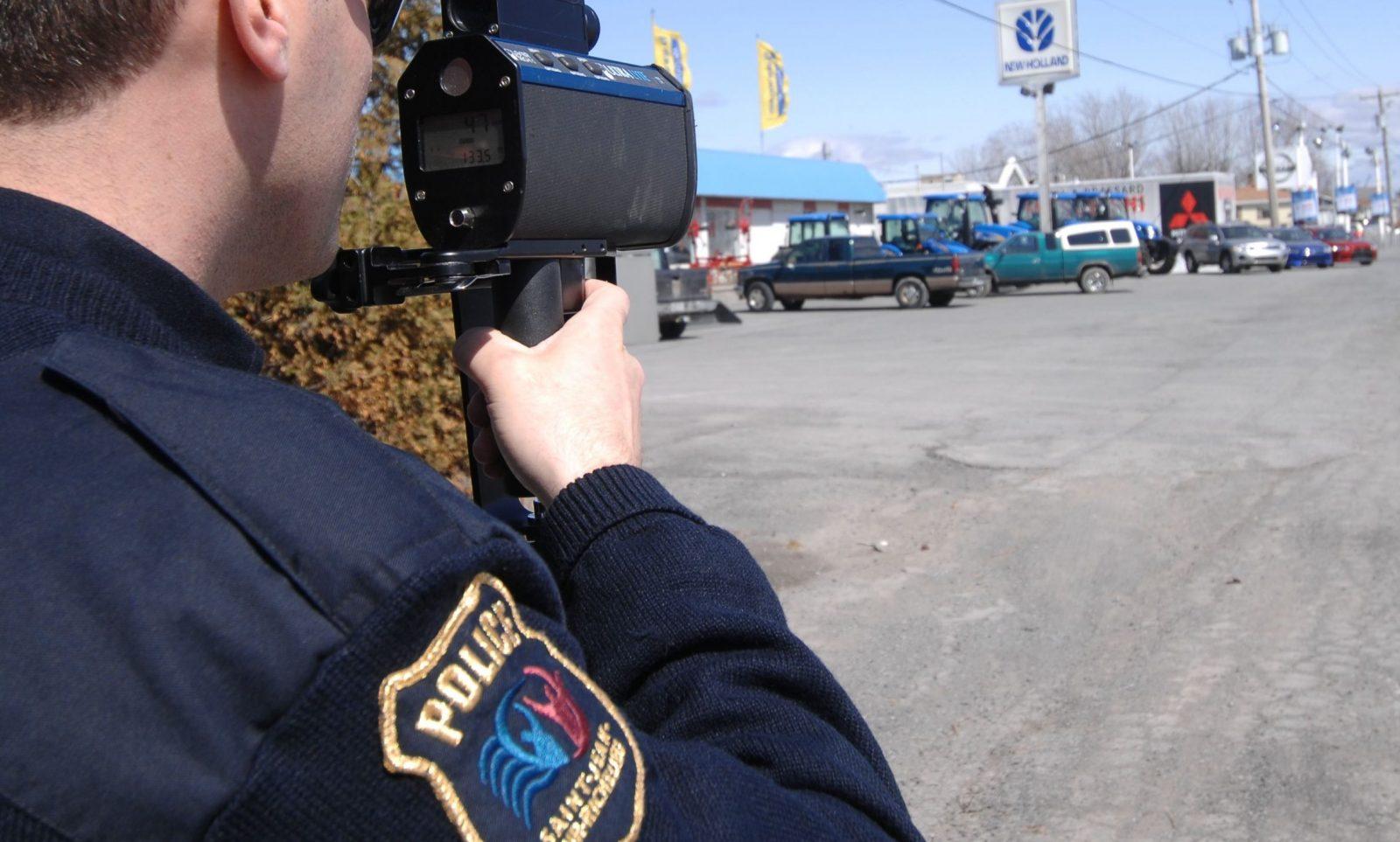 Deux conducteurs arrêtés pour grand excès de vitesse à Saint-Jean