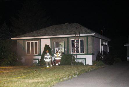 Un problème électrique cause un incendie