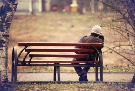 Solitude accrue pour beaucoup durant cette crise