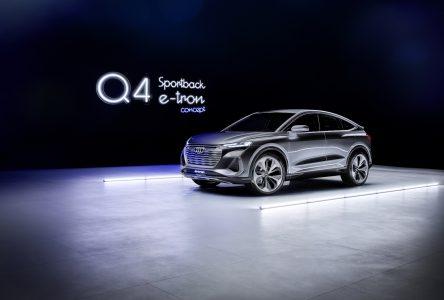 Audi présente le concept Q4 e-tron Sportback