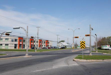 L'intersection Grand-Bernier et Pierre-Caisse fermée trois jours